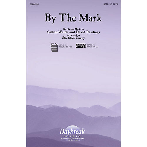 Daybreak Music By the Mark SATB arranged by Sheldon Curry