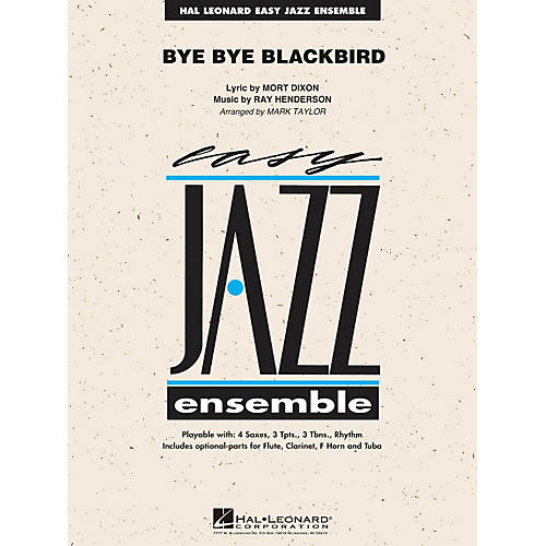 Hal Leonard Bye Bye Blackbird - Easy Jazz Ensemble Series Level 2