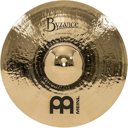 Meinl Byzance Brilliant Heavy Hammered Ride Cymbal
