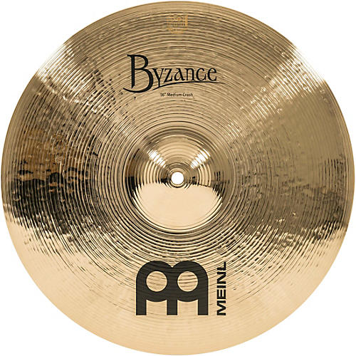 Meinl Byzance Brilliant Medium Crash Cymbal
