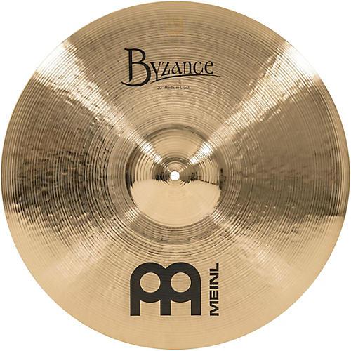 Meinl Byzance Brilliant Medium Crash Cymbal 20 in.