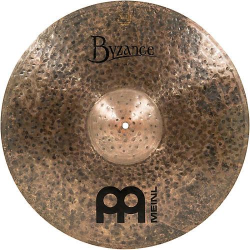 MEINL Byzance Dark Ride Cymbal Condition 1 - Mint 21 in.