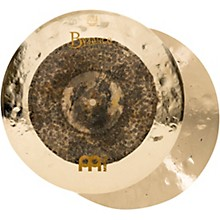 Open Box Meinl Byzance Extra Dry Dual Hi-Hat Cymbal Pair