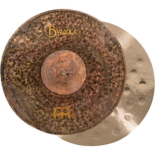 Meinl Byzance Extra-Dry Medium Hi-Hat Cymbals Condition 1 - Mint 14 in.