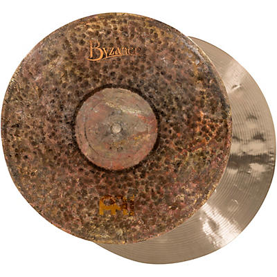 Meinl Byzance Extra Dry Medium Thin Hi-Hat Cymbal Pair