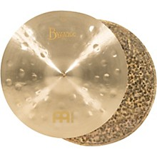 Open Box Meinl Byzance Jazz Thin Hi-Hat Traditional Cymbals