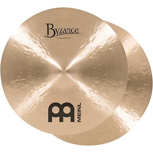 Meinl Byzance Medium Hi-Hat Cymbals 15 in.