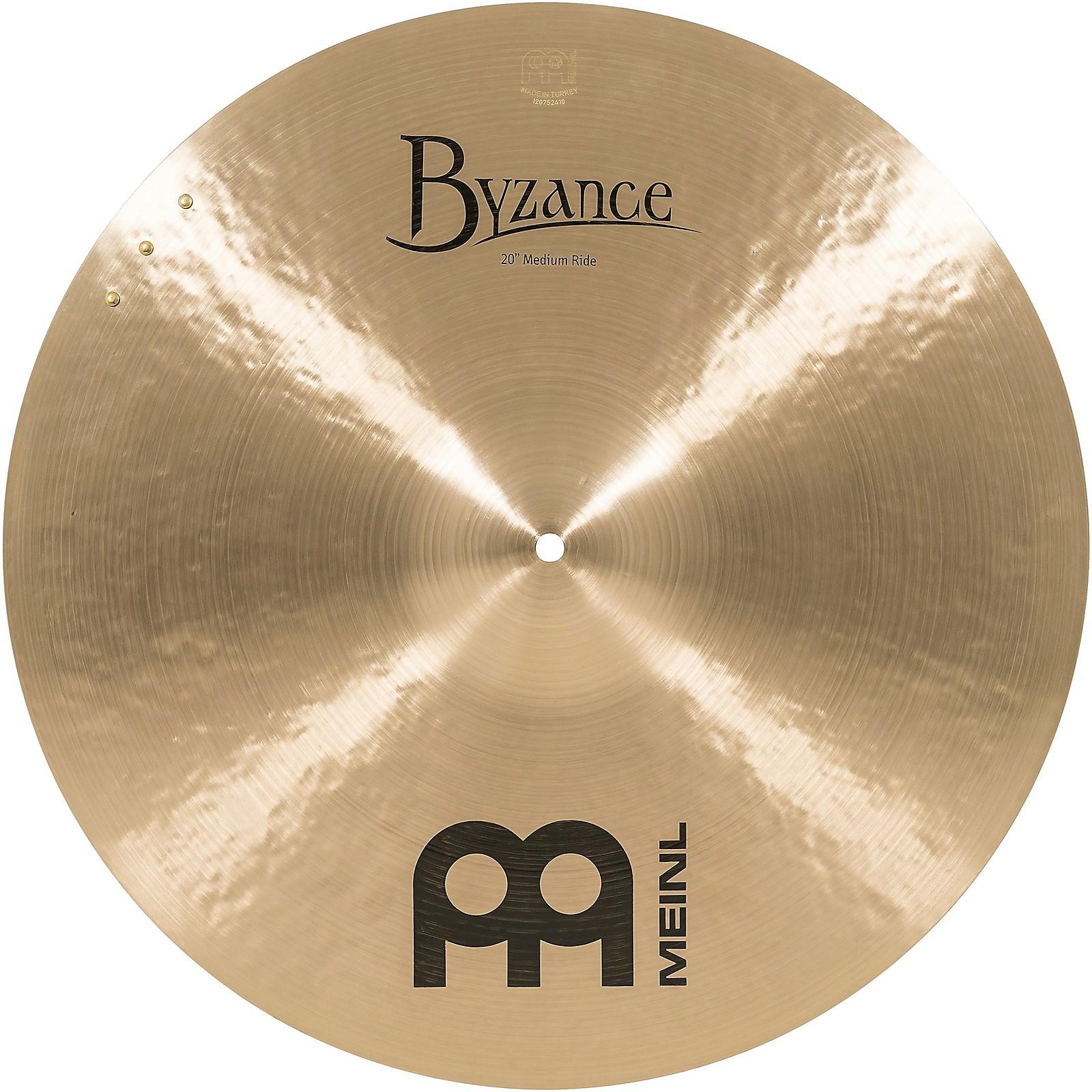 Meinl Byzance Medium Sizzle Ride Traditional Cymbal