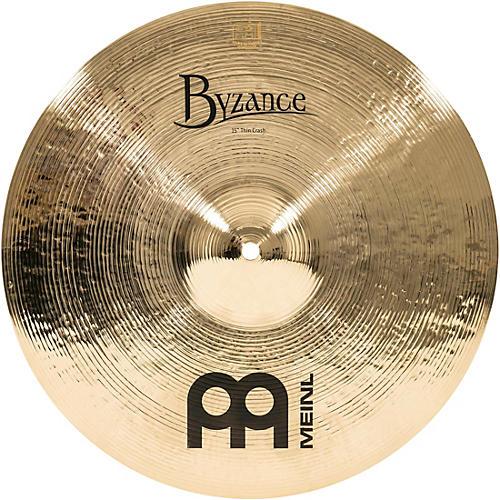 Meinl Byzance Thin Crash Brilliant Cymbal
