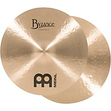 Meinl Byzance Traditional Medium Hi-Hat Cymbal Pair