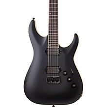 Open Box Schecter Guitar Research C-1 Apocalypse Carbon Black Limited Edition Electric Guitar