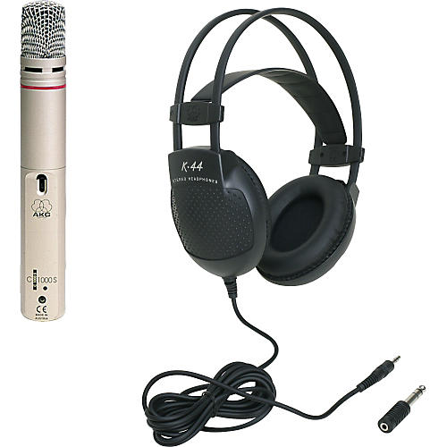 AKG C 1000 S Condenser Mic And K44 Headphone Package
