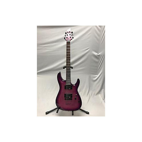 Schecter Guitar Research C-6 Elite Solid Body Electric Guitar Pink
