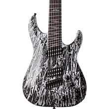 Schecter Guitar Research C-7 Multi-Scale Silver Mountain 6-String Electric Guitar