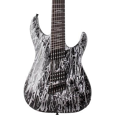 Schecter Guitar Research C-7 Multi-Scale Silver Mountain 7-String Electric Guitar