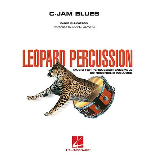 Hal Leonard C-Jam Blues (Leopard Percussion) Concert Band Level 3 by Duke Ellington Arranged by Diane Downs