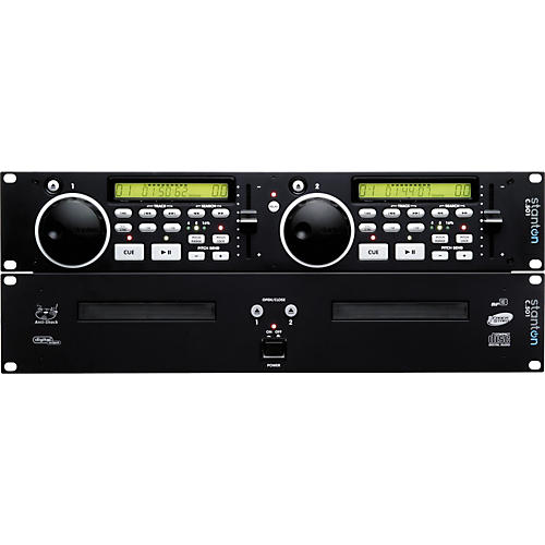 Stanton C.501 Dual Rackmount CD Player with MP3