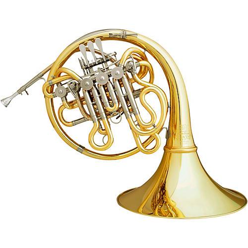 Hans Hoyer C1-L Triple Horn Yellow Brass Detachable Bell