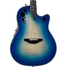 C2078AXP Elite Plus Contour Acoustic-Electric Guitar Transparent Blue