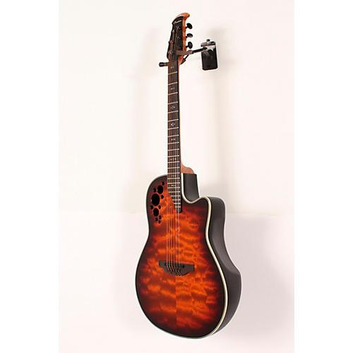 open box ovation c2078axp stb exotic wood elite plus sapeli acoustic electric guitar tobacco. Black Bedroom Furniture Sets. Home Design Ideas