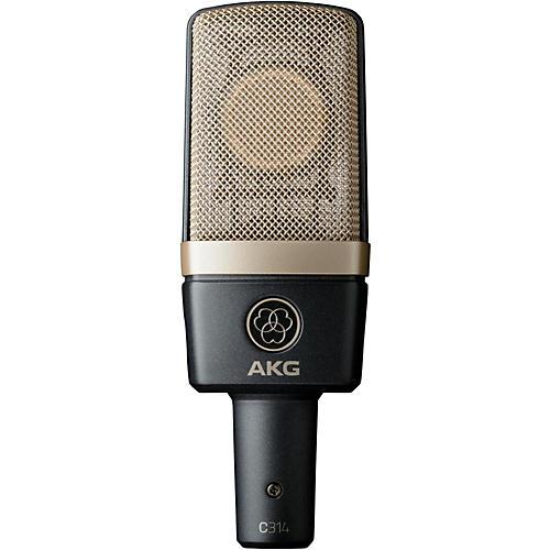 AKG C314 Professional Multi-Pattern Condenser Microphone Condition 1 - Mint