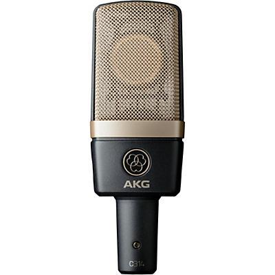 AKG C314 Professional Multi-Pattern Condenser Microphone