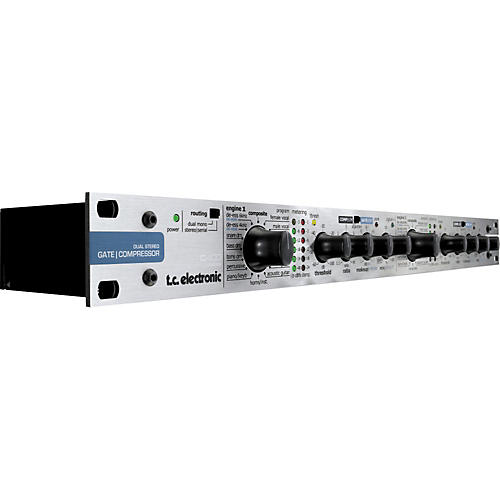 TC Electronic C400XL Dual Stereo Gate/Compressor