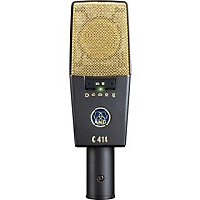 Open Box AKG C414 XLII Reference Multi-Pattern Condenser Microphone