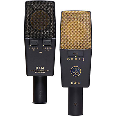AKG C414 XLII/ST Matched Pair Microphone