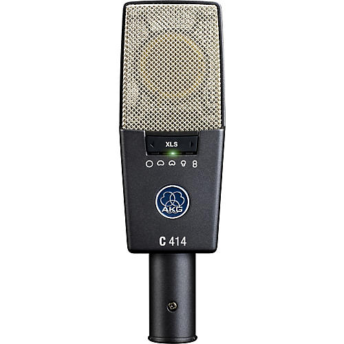 AKG C414 XLS Reference Multi-Pattern Condenser Microphone Condition 1 - Mint