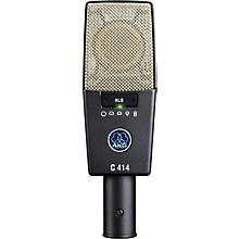 Open Box AKG C414 XLS Reference Multi-Pattern Condenser Microphone