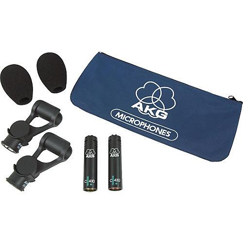 AKG C430 Overhead Microphone Pair
