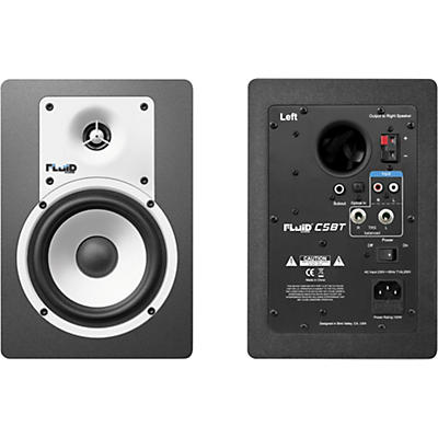 "Fluid Audio C5BT 5"" Bluetooth Powered Studio Monitors (Pair)"