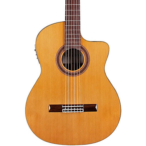 Cordoba C7-CE CD Classical Nylon Acoustic-Electric Guitar Natural