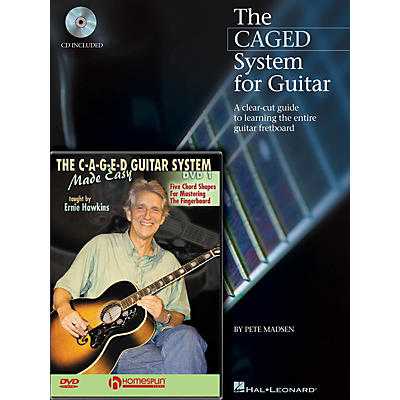 Homespun CAGED System Pack Homespun Tapes Series Softcover with DVD Written by Pete Madsen