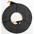 Tera Grand CAT7 10 Gigabit Ethernet Ultra Flat Braided Cable, Black/White thumbnail