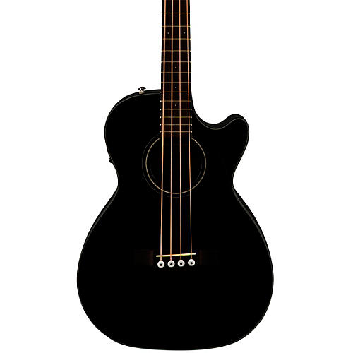 fender cb 60sce acoustic electric bass guitar black musician 39 s friend. Black Bedroom Furniture Sets. Home Design Ideas