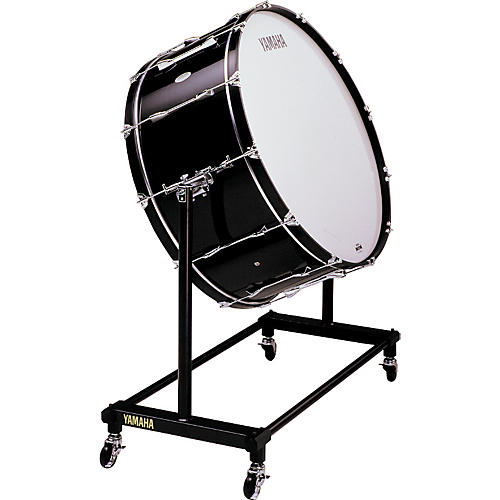 Yamaha CB 636 Concert Bass Drum With BS753 Stand Cover