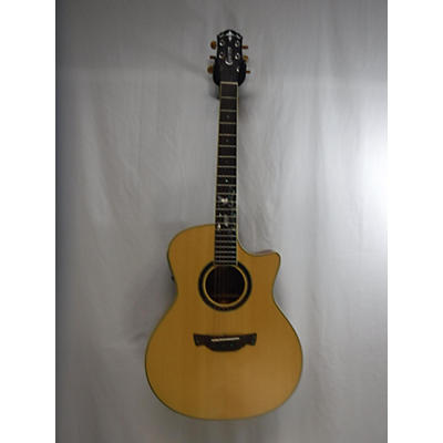 Crafter Guitars CB-MAHO PLUS Acoustic Electric Guitar