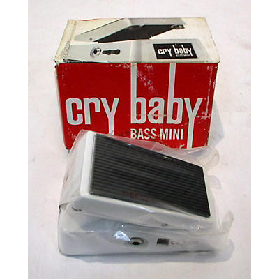 Dunlop CBM105Q Cry Baby Bass Mini Wah Effect Pedal