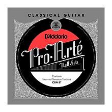 D'Addario CBN-3T Pro-Arte Normal Tension Classical Guitar Strings Half Set