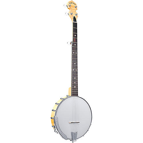 Gold Tone CC-100/L Left-Handed Cripple Creek Open Back Banjo Vintage Brown