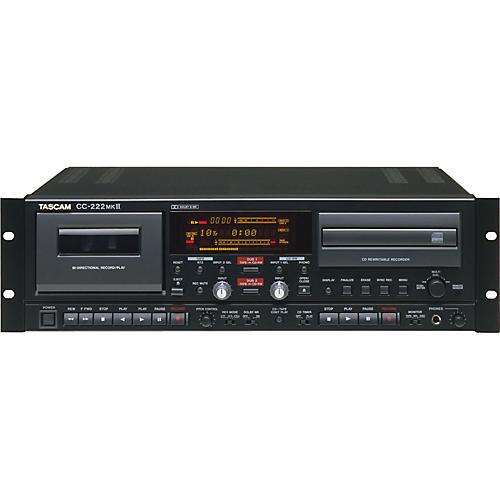 Tascam CC-222mkII CD-RW/Cassette Combo