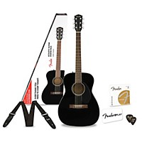 MusiciansFriend.com deals on Fender Classic Design Series CC-60S Concert Acoustic Guitar Pack