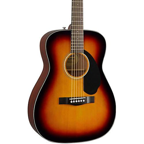 Fender CC-60S Concert Acoustic Guitar Sunburst