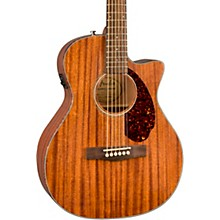 Open BoxFender CC-60SCE All-Mahogany Limited Edition Acoustic-Electric Guitar