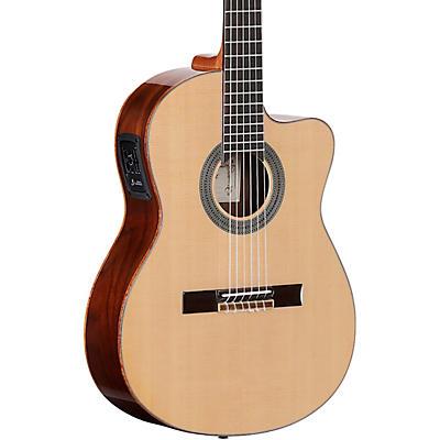 Alvarez CC7HCE CADIZ Series Nylon-String Acoustic-Electric Guitar