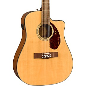 fender cd 140sce 12 string dreadnought acoustic electric guitar natural musician 39 s friend. Black Bedroom Furniture Sets. Home Design Ideas