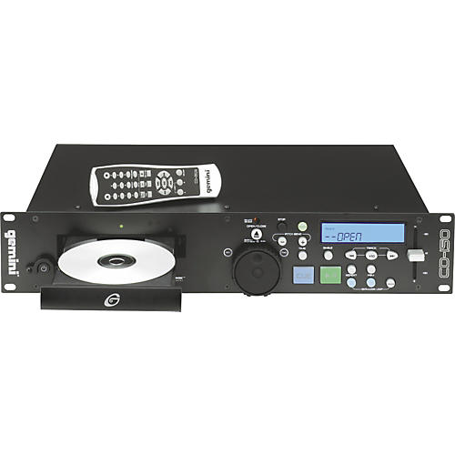 gemini cd 150 single deck rackmount cd player musician 39 s friend. Black Bedroom Furniture Sets. Home Design Ideas