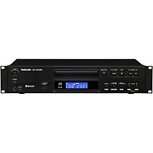 Open Box Tascam CD-200BT Professional CD Player with Bluetooth Receiver